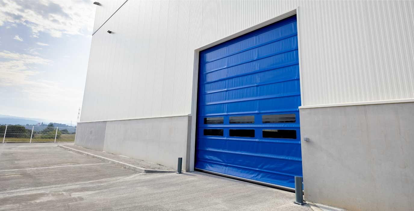 Doors for industrial sector