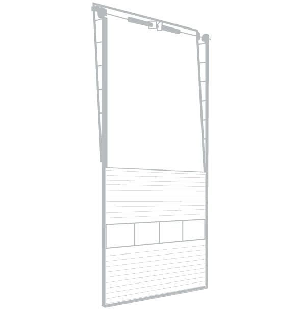 Vertical lintel